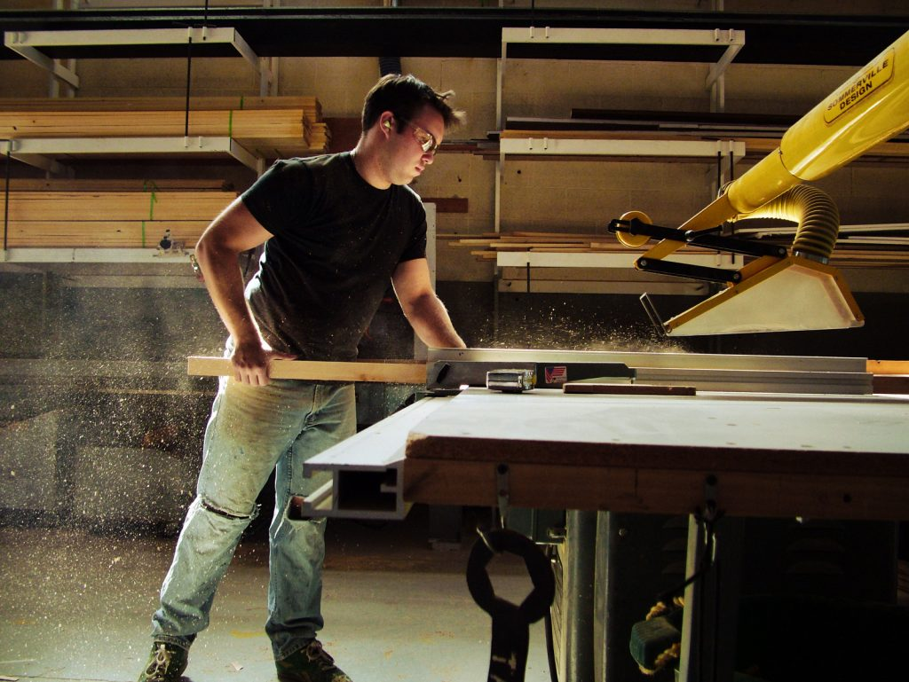 How To Make Bevel Cuts On A Table Saw