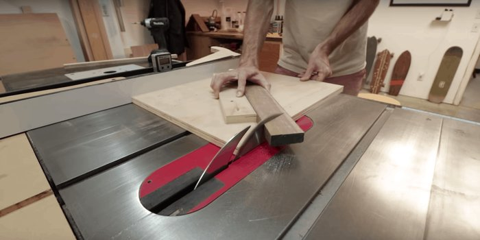 How To Make Bevel Cuts On A Table Saw 2